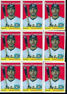 Investor Lot x10 2019 Topps Archives 1958 RC Rookie 31 Ramon Laureano