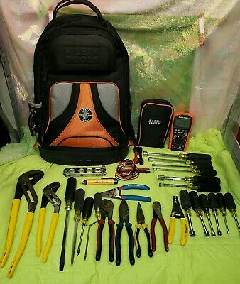 Klein Tools Backpack & Tools Preowned Excellent Condition All Are Klein Tools 😱