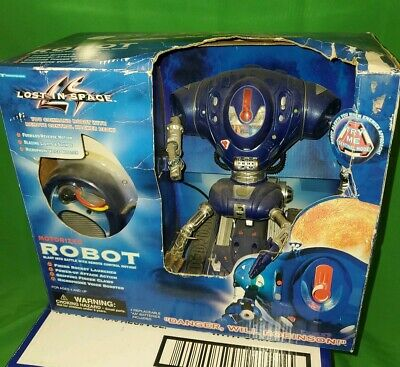 LOST IN SPACE ROBOT Motorized Remote Control 1997 Trendmasters NEW