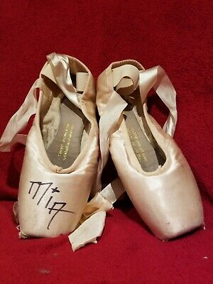 Pointe Shoes Signed By Mia Michaels