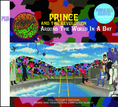 Prince Around The World In A Day Collector's Edition CD 2 Discs Set Music Rock