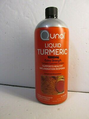 Qunol Liquid Turmeric Curcumin with Bioperine 1000 mg 60 Servings 30.4 oz.