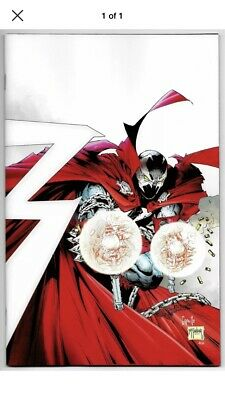 Spawn #300 Cvr K 1:25 Capullo & Mcfarlane Virgin Variant (Image, 2019) NM