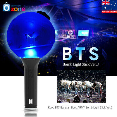 KPOP BTS ARMY Bomb Light Stick Ver.3 Bangtan Boys Concert Lamp Lightstick Fans