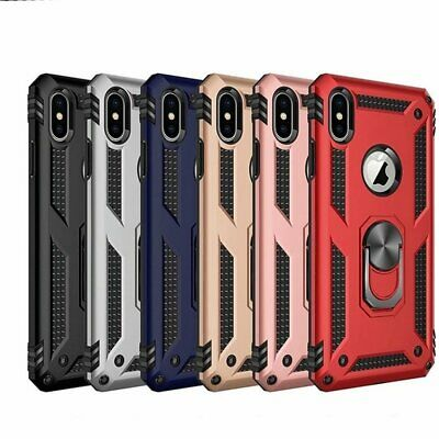 For Apple iPhone 11 Pro XS Max X XR 7 8 Plus Hybrid Slim Case Cover +Screen
