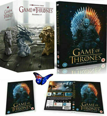 Game Of Thrones The Complete Season 1-7 Box Set Complete Series1 2 3 4 5 6 7 DVD