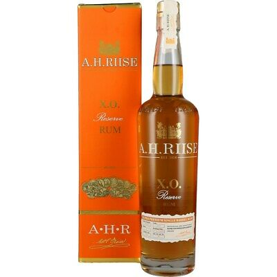 A.H. Riise X.O. Rum GIFTBOX 40% 0,7L
