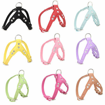 9 Colors Dog Harness NoPull Pet Control Adjustable Collar Soft Vest Puppy Leash