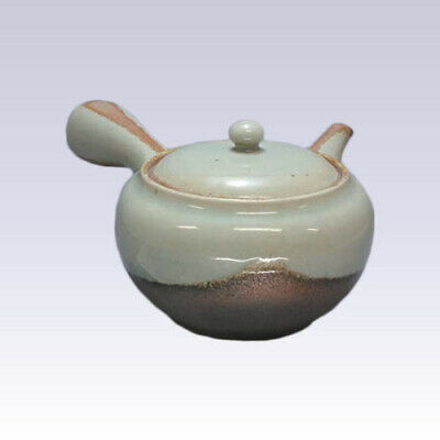 Tokoname Kyusu teapot - ISSIN - Ashes - 500cc/ml - Refreshing steel net