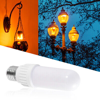 E27 LED SMD Flicker Flame Simulated Ture Fire Color Light Lamp Bulb Decor LD1258