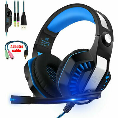 3.5mm Gaming Stereo Headset MIC LED Headphone For Xbox one/PS4/Nintendo Switch