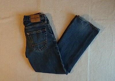 Abercrombie & Fitch Kilburn Low Rise Boot Jeans Button Fly Front Boys 8  B208