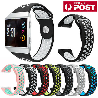 For Fitbit Ionic Replacement Wristband Silicone Watch Wrist Sports Band Strap