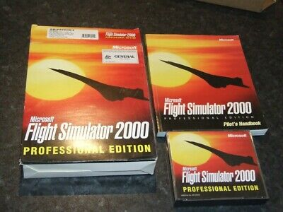 Microsoft Flight Simulator 2000 Professional Edition with Prima Strategy Guide