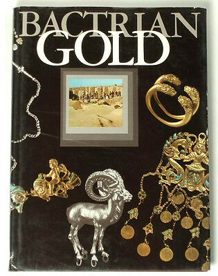 BOOK Bactrian Gold ancient jewelry Afghanistan Persian art turquoise Asian belt