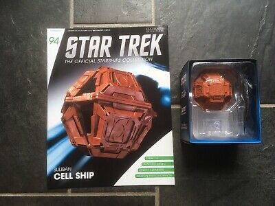 Star Trek Eaglemoss #94 Sullivan Cell Ship With Magazine