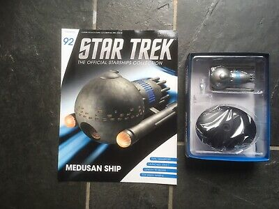 Star Trek Eaglemoss #92 Medusa's Ship With Magazine