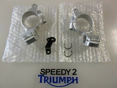 Triumph Thruxton 1200 R Handlebar Low Risers Left & Right Side A9638108