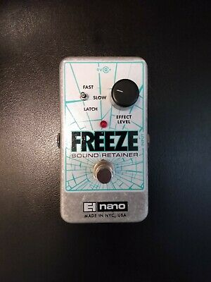 Electro Harmonix Freeze Pedal EHX, Excellent Condition With Original Box and PSU