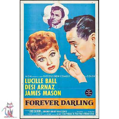 Forever Darling Lucille Ball Movie Poster / Photo / Canvas / Coffee Cup #9