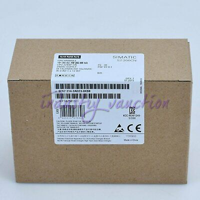 Siemens New 6ES7214-2AD23-0XB8 Central Processing Unit 6ES7 214-1AD23-0XB8