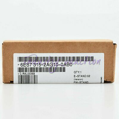 Siemens New 6ES7315-2AG10-0AB0 S7-300Central Processing Unit 6ES7 315-2AG10-0AB0