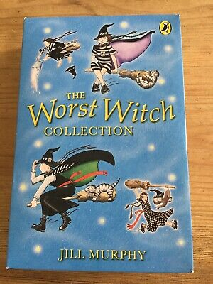 The Worst Witch Collection by Jill Murphy. Set of 4 books. Never Read.Paperback.
