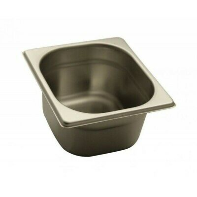 Pan Gastronorm Containers Stainless Steel Gn 1/6 Height 10 CM