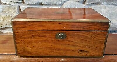 Antique Victorian Large Writing Slope Box c1890 - Beautiful - MUST SEE