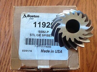Boston 30216852 11920 Ss82-P Steel Gear Sp/Bevel