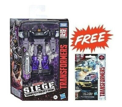 (P) Transformers Generations Siege War For Cybertron Wfc Deluxe Barricade Figure