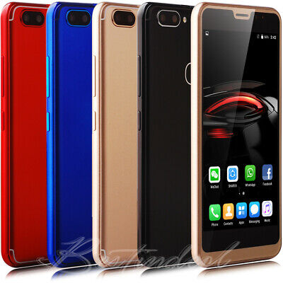 """16GB 5"""" inch cell phone unlocked android Smartphone 5.0MP Quad Core 2SIM Mobile"""