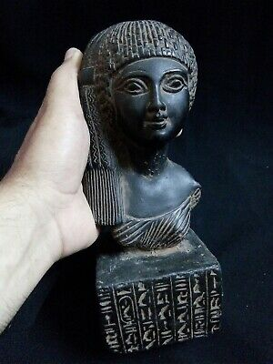 EGYPTIAN ANTIQUES ANTIQUITIES Meritaten Akhenaten Daughter Statue 1356-1309 BC