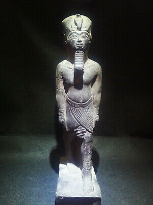 EGYPTIAN ANTIQUES ANTIQUITIES King Amenhotep III Statue Figure 1386-1349 BC