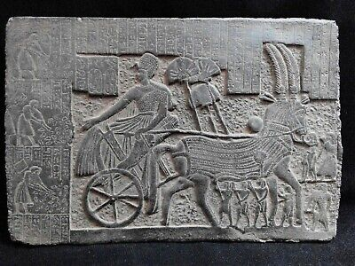 EGYPTIAN ANTIQUES ANTIQUITIES Ramses II After Victory Stela Stele 1244-1274 BC