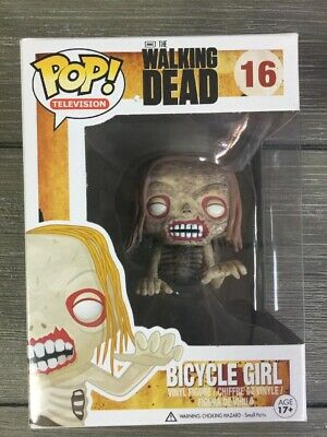 Funko Pop The Walking Dead Bicycle Girl #16 Vaulted