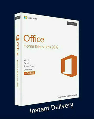 ⚡️🔑 Microsoft Office 2016 Home and Business For Mac Download Link 5 users⚡️🔑