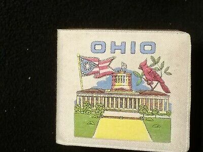 Vintage State of Ohio  Souvenir  Wallet Cardinal State House