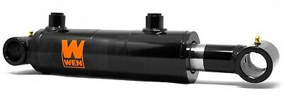 WEN WT2010 Cross Tube Hydraulic Cylinder with 2-inch Bore and 10-inch Stroke