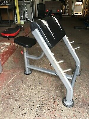Large Very Heavy Duty Commercial Preacher Curl Bench - Strength Weights Training