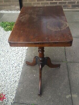 Georgian/Victorian Mahogany Tripod side table