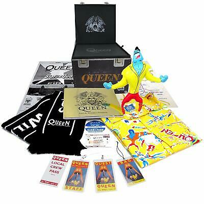 Queen ‎– Live Wembley Magic Tour Roadie Cube CD DVD Deluxe Edition Boxset Rare