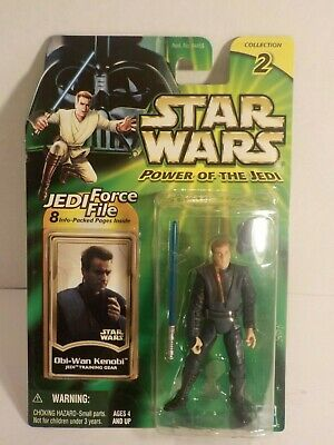 STAR WARS Hasbro 3.75 POTJ OBI-WAN KENOBI Jedi Training Gear New Sealed MOC