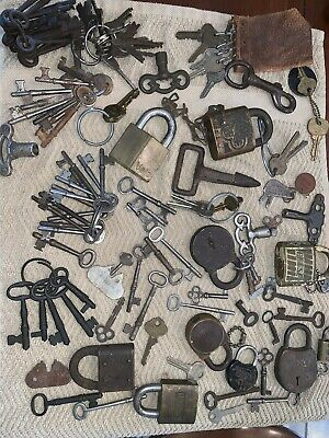 Antique Key And Lock Lot!