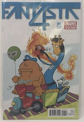 Fantastic Four #1 Katie Cook Animal Variant NM