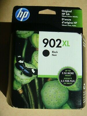 BIN FREE SHIPPING! ~  FRESH NEW GENUINE HP 902XL BLACK Cart ~ Exp'd - DEC 2020!
