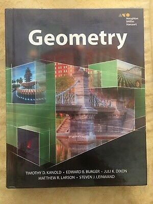 HMH Geometry: Geometry (2015, Hardcover, Student Edition of Textbook)
