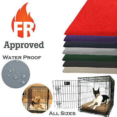 Dog Cage Crate Mat Waterproof Tough - Multiple Colours Available
