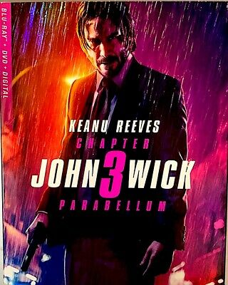 John Wick Chapter 3 Parabellum Blu-ray/DVD/Digital,2019)