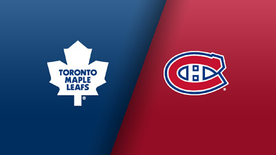 Montreal Canadiens vs Toronto Maple Leafs - 2 tickets, September 23, 2019, 7pm.